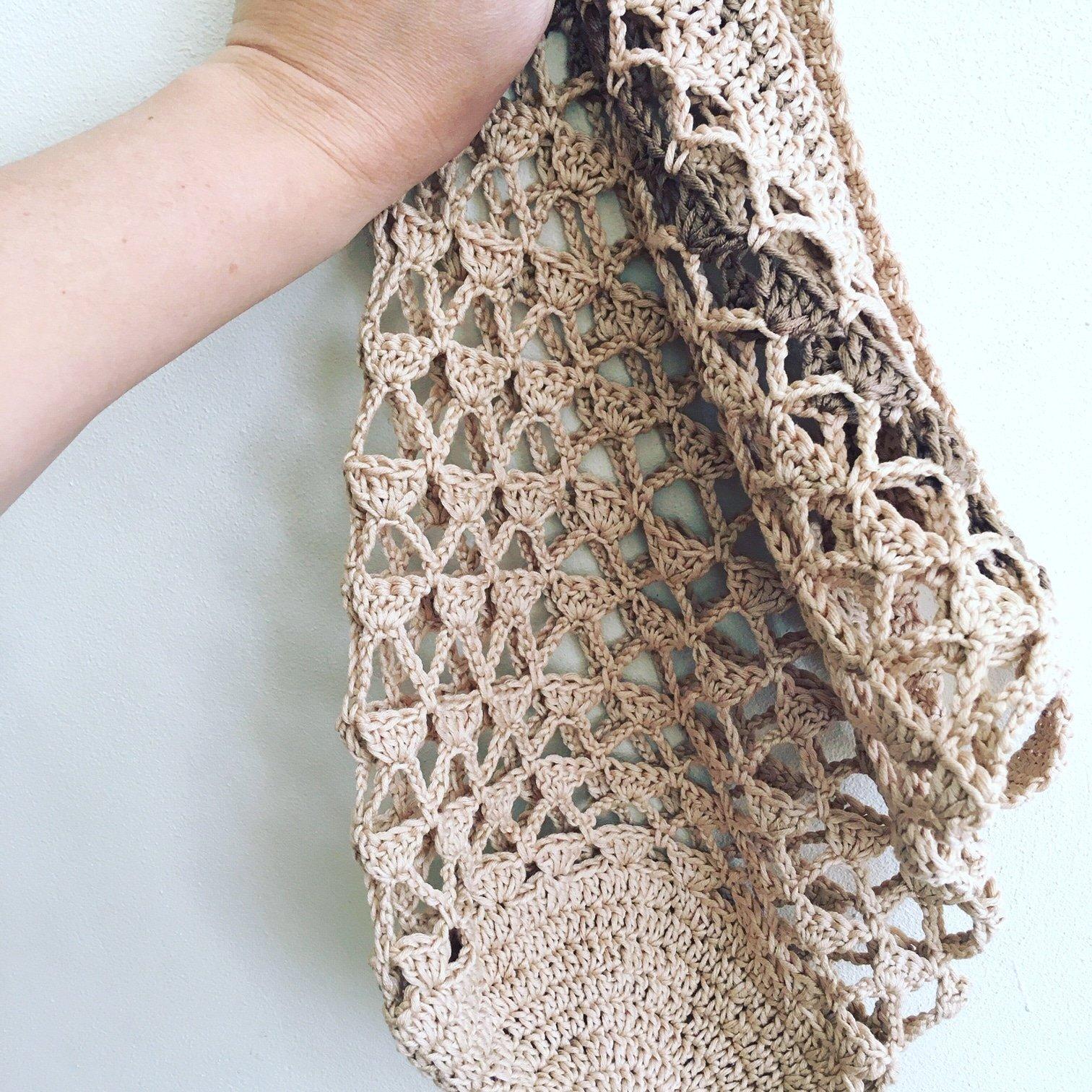 little triangles market bag